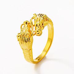 Duże pierścionki Pierscionek Klasyczny Zwierzęta Modny Styl Punk Rock Gotyckie Miedź Circle Shape Animal Shape Smok Biżuteria NaSpecjalne