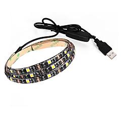 3.5 Ευέλικτες LED Φωτολωρίδες 250 lm DC5 V 0.9 m 27 leds Θερμό Λευκό Λευκό