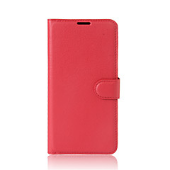 For Alcatel  A3 A3 XL Case Cover Card Holder Wallet with Stand Flip Full Body Case Solid Color Hard PU Leather for Alcate Series Mobile Phone