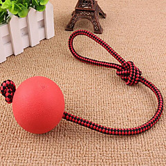 Cat Toy Dog Toy Pet Toys Ball Cute Easy Install Rope Elastic Rubber