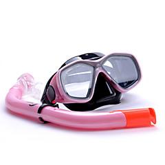 스노클 세트 보호하는 다이빙 & 스노쿨링 혼합 재질 에코 PC