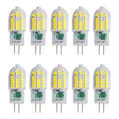 YWXLight® 10Pcs G4 3W 30 LED 2835 SMD 200-300 Lm Warm White Cool White Natural White LED Bi-Pin Lights AC 220-240 V