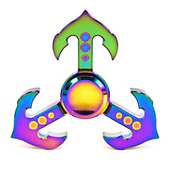 Hand Spinner Draaitol Speeltjes Speeltjes Speeltjes Aluminium EDC Stress en angst Relief Relieves ADD, ADHD, Angst, Autisme High-Speed