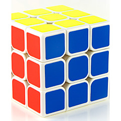 Rubik's Cube Smooth Speed Cube Stress Relievers Magic Cube Educational Toy Smooth Sticker Anti-pop Adjustable spring ABS PVC
