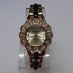 Damskie Ladies ' Modny Zegarek na bransoletce Kwarcowy Stop Pasmo Błyszczące Kropka Elegancki Czarny Różowe złoto