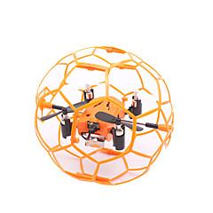 Drone M70 Canal 4 6 Eixos - Iluminação De LED Vôo Invertido 360° FlutuarQuadcóptero RC Controle Remoto 1 Estação de Carregamento 1 Cabo