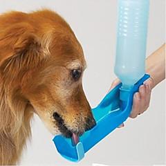 Kedi Köpek Kaseler ve Su Şişeleri Evcil Hayvanlar Kaseler ve Besleme Su Geçirmez Taşınabilir Kırmzı Mavi Pembe