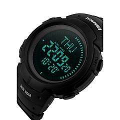 Heren Dames Sporthorloge Dress horloge Slim horloge Modieus horloge Polshorloge Unieke creatieve horloge Chinees DigitaalLCD Compass