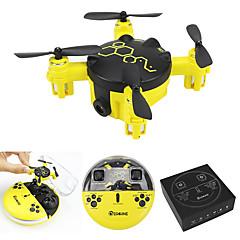Drone FQ04 Canal 4 6 Eixos Com 0.3MP HD Camera Iluminação De LED Modo Espelho InteligenteQuadcóptero RC Controle Remoto Manual 1 x