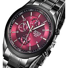 Heren Voor Stel Sporthorloge Militair horloge Dress horloge Modieus horloge Vrijetijdshorloge Polshorloge Armbandhorloge Kwarts Legering