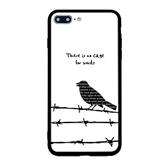 For iPhone 7 Plus 7 Case Cover Pattern Back Cover Case Animal Word / Phrase Soft Shell for iPhone 6s Plus 6 Plus 6s 6 5s 5 SE