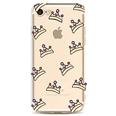 För Apple iPhone 7 7 plus 6s 6 plus fodral täcka tecknad mönster målade hög penetration tpu material mjukt fodral telefonväska