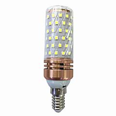 E14/E27 15W LED Corn Lights 60 SMD 2835 700-800 lm Warm White /White  220V