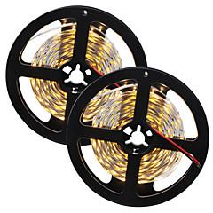 80W Fleksible LED-lysstriber 7650-7750 lm Jævnstrøm12 V 10 m 300 leds Varm Hvid Hvid