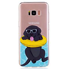 Til Samsung Galaxy S8 plus s8 telefon taske tpu materiale hvalp mønster malet telefon taske s7 kant s7 s6 kant s6