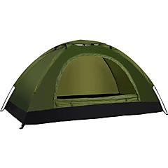LINGNIU® 1 Person Telt Enkelt camping telt Automatisk Telt Vandtæt Hold Varm Ultra Lys (UL) for CM Et Værelse Oxford-stof