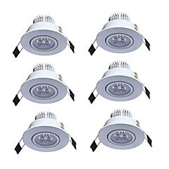 Downlights Varm hvid Kold hvid Andet LED 6