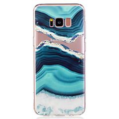 Θήκη για samsung galaxy s8 plus s8 καλοκαιρινό θαλασσινό νερό μαρμάρινο σχέδιο μαλακό tpu υλικό θήκη για s7 άκρη s7 s6 άκρη s6