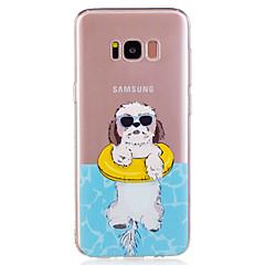 Samsung Galaxy s8 plusz s8 telefon esetében TPU anyag kölyök minta festett telefon esetében s7 szélén s7 s6 él s6