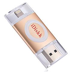 Idiskk u002 64g otg usb 2.0 villám titkosítva mfi hitelesített flash meghajtó u iphone ipod ipod ipod