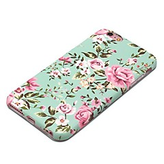 Para iPhone X iPhone 8 Case Tampa Estampada Capa Traseira Capinha Flor Macia PUT para Apple iPhone X iPhone 8 Plus iPhone 8 iPhone 7 Plus
