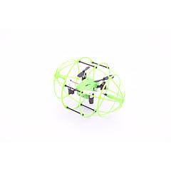 Drone M69 4 canaux - Eclairage LED Quadri rotor RC Câble USB Hélices