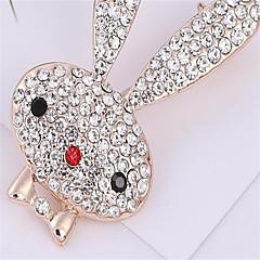 Dames Broches imitatie Diamond Aanbiddelijk Legering Sieraden Sieraden VoorFeest/Uitgaan Dagelijks gebruik AvondFeest Verjaardagsfeest