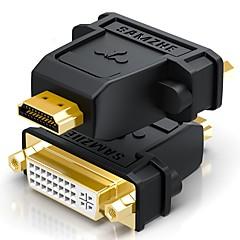 HDMI 2.0 Μετασχηματιστή, HDMI 2.0 to DVI Μετασχηματιστή Αρσενικό - Θηλυκό Επίχρυσο χαλκό