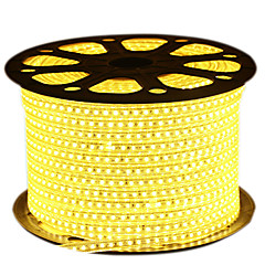 HKV® 1PCS 5M LED Strip 2835SMD 600Led IP67 Waterproof With EU Power Plug LED Tape Light String AC 220-240V