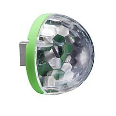 Night Light Noc LED Light Światła USB-3W-USB Zmieniająca Kolor Kontroler głośności - Zmieniająca Kolor Kontroler głośności
