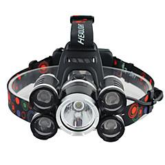 Hoofdlampen Hoofdlampband veiligheidslichten LED 3000 Lumens 1 Modus Cree XM-L T6 Batterijen niet inbegrepen Hoeklamp Super Light voor