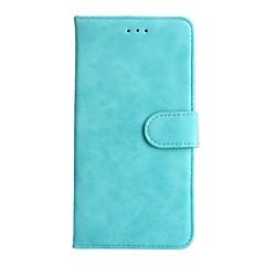 A huawei p8lite 2017 hátizsákos kártyatulajdonos pénztárcáját állvánnyal teljes karosszéria tok egyszínű kemény, valódi bőr p10lite / p10