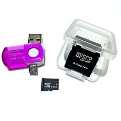 8GB MicroSDHC TF muistikortti 2 1 USB otg kortinlukija mikro USB otg