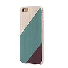 Taske til iphone 7 6 træ korn tpu blød ultra-tynd bagcover cover til iPhone 7 plus 6 6s plus se 5s 5 5c 4s 4
