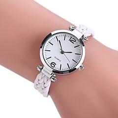 Dames Dress horloge Modieus horloge Polshorloge Chinees Kwarts PU Stof Band Vintage Bohémien Vrijetijdsschoenen Elegante horloges Zwart