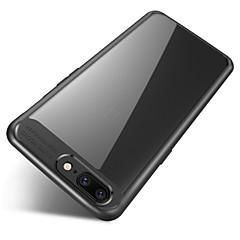 Case voor een plus 5 volledige beschermende siliconen acryl transparante achterkant