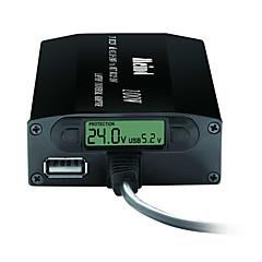 Universele laptop adapter dubbel gebruik 505k-100w met led display tonen spanning