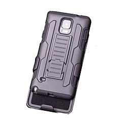 For Samsung Galaxy Note Med stativ Etui Bagcover Etui Armeret PC for Samsung Note 5 Note 4 Note 3