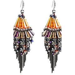 Damskie Kolczyki wiszące Ręcznie wykonane Ponadgabarytowych Osobiste Stop Taper Shape Biżuteria Na Inny Etap