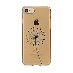 Tapauksessa iphone 7 6 voikukka tpu pehmeä erittäin ohut takakannen kotelo iPhone 7 plus 6 6s plus se 5s 5 5c 4s 4