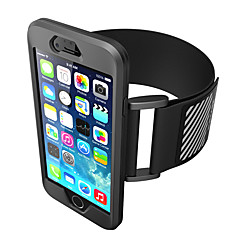 Hoesje voor iphone 7 plus iphone 7 hoesje armband armband hoesje vaste kleur zachte siliconen voor apple iphone 6s plus iphone 6 plus