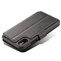 Voor iPhone X iPhone 8 iPhone 8 Plus iPhone 7 Hoesje cover Portemonnee Kaarthouder met standaard Flip Magnetisch Volledige behuizing