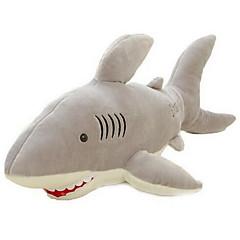 장난감을 채웠다 Shark 코랄 플리스 리넨/면 모든 연령대에