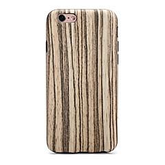 Käyttötarkoitus iPhone 7 iPhone 7 Plus kotelot kuoret Ultraohut Kuvio Takakuori Etui Puukuvio Pehmeä TPU varten Apple iPhone 7 Plus