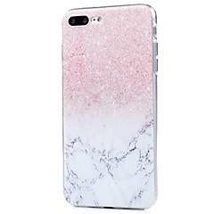 για κάλυψη περίπτωση εξαιρετικά λεπτό μοτίβο πίσω κάλυμμα περίπτωσης λάμψη λάμψη μαλακό tpu για iphone iphone ip iphone 8 plus iphone 8