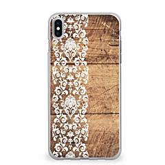 suojakotelo erittäin ohut kuvio takakannen kotelo puun grain pitsi tulostus pehmeä tpu apple iphone x iphone 8 plus iphone 8 iphone 7