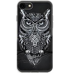 Για iPhone 7 iPhone 7 Plus Θήκες Καλύμματα Εξαιρετικά λεπτή Με σχέδια Πίσω Κάλυμμα tok Κουκουβάγια Μαλακή TPU για Apple iPhone 7 Plus