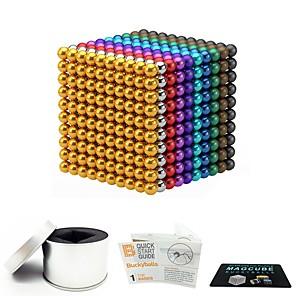 1000 pcs 3mm Magneti giocattolo Palline magnetiche Magneti giocattolo Magneti ultra resistenti A calamita Stress e ansia di soccorso Giocattoli per ufficio Libera ADD, ADHD, Ansia, Autismo Novità Per