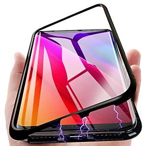 hoesje Voor Samsung Galaxy S9 Plus / S9 Magnetisch Volledig hoesje Effen Hard Metaal voor S9 / S9 Plus / S8 Plus