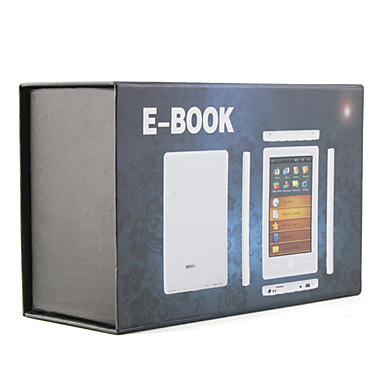 "5"" Touch Screen Ebook Reader HD Media Player - PDF/TXT/Video/MP3/FM/Voice Recorder"